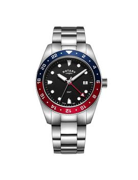 Rotary Henley Men's Stainless Steel Bracelet Watch by Rotary