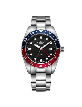 Rotary Henley Men's Stainless Steel Bracelet Watch by H.Samuel