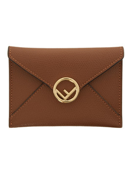 tan-small-f-is-fendi-envelope-card-holder by fendi