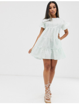 prettylittlething-petite-broderie-smock-dress-in-mint by prettylittlething