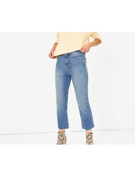 edie-cropped-jeans by oasis