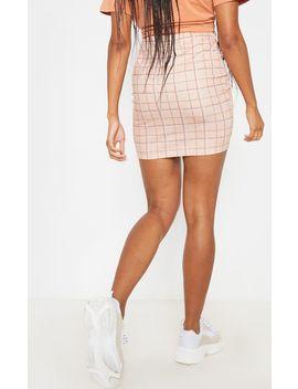 stone-check-mini-skirt- by prettylittlething