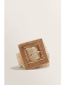 rattan-belt by seed-heritage