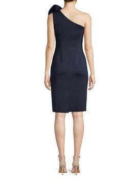 one-shoulder-crepe-cocktail-dress by eliza-j