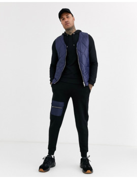 asos-design-muscle-hoodie-in-black by asos-design