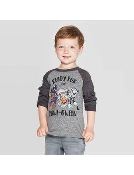 toddler-boys-paw-patrol-ready-for-howloween-long-sleeve-t-shirt---gray by paw-patrol