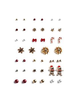 christmas-earring-studs-20pk by primark