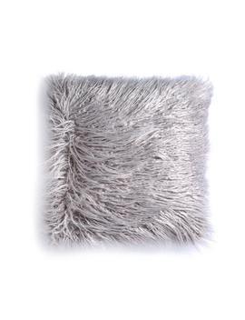 grey-fluffy-cushion by primark