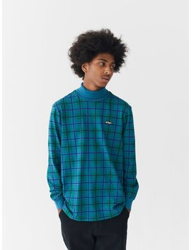 Lazy Oaf Tripped Out Check Long Sleeve T Shirt by Lazy Oaf