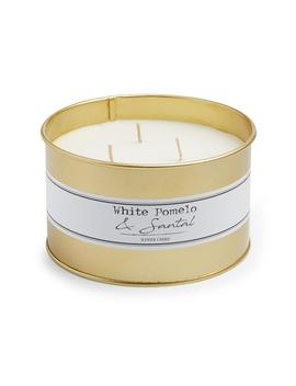 white-pomelo-3-wick-tin-candle by primark