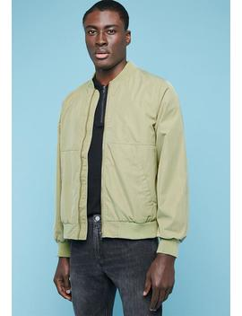 lined-bomber-jacket---green by superbalist