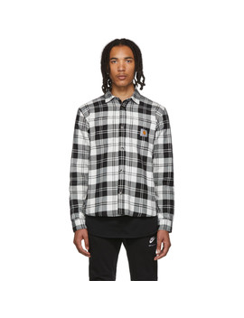 black-&-white-check-pulford-shirt by carhartt-work-in-progress