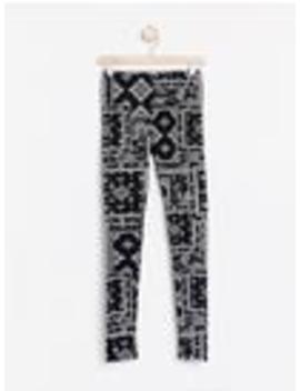 leggings-med-paisleymönster by lindex
