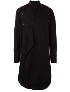 buttoned-panel-oversized-shirt by julius