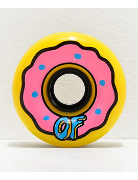 odd-future-x-slime-balls-donut-65mm-78a-longboard-wheels by santa-cruz-skate