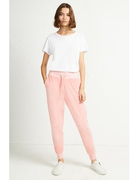 ruthie-velour-jersey-joggers by french-connection