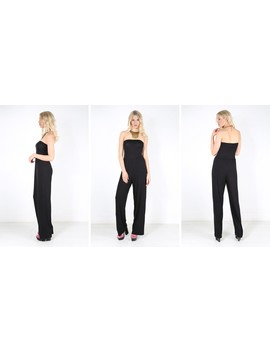 kadie-strapless-wide-leg-jumpsuit-in-black by oops-fashion