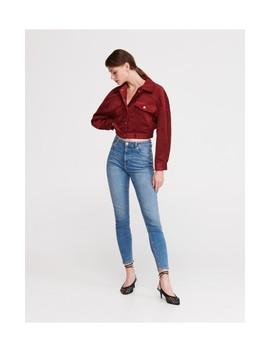 džíny-slim-svysokým-pasem by reserved