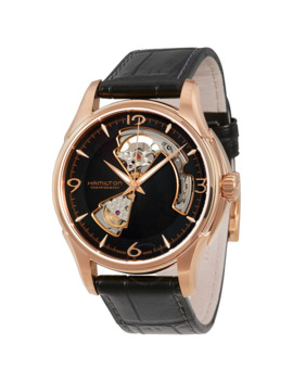 jazzmaster-open-heart-rose-gold-plated-case-automatic-mens-watch by hamilton