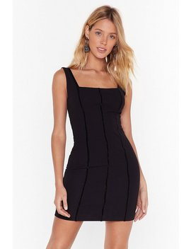 throw-a-hissy-fit-square-neck-mini-dress by nasty-gal