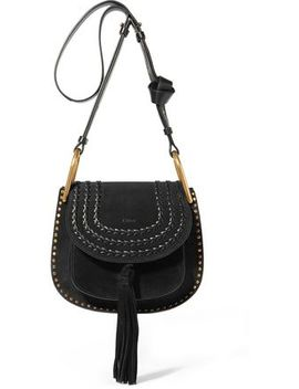 hudson-small-whipstitched-suede-shoulder-bag by chloÉ
