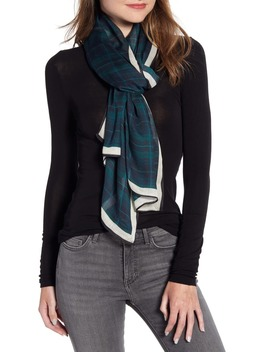 plaid-scarf by rebecca-minkoff