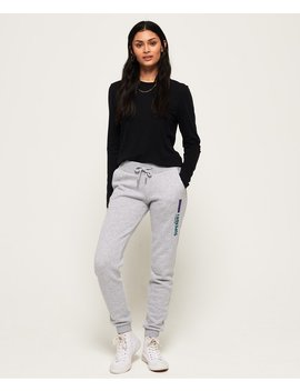 90's Applique Joggers by Superdry