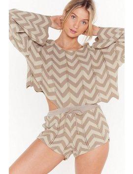 hole-lotta-love-zig-zag-stripe-jumper-&-short-set by nasty-gal