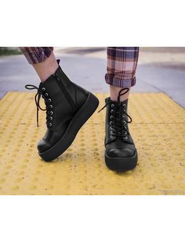 Black Tu Kskin™ Viva Mondo Boot by Tuk