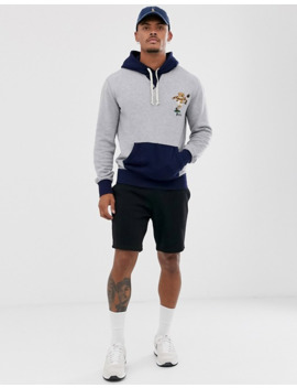 polo-ralph-lauren-rugby-bear-embroidered-hoodie-contrast-detail-in-grey-marl_navy by polo-ralph-lauren