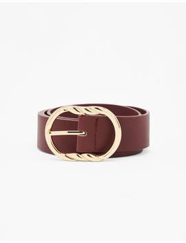 cinturón-con-hebilla-accesorios---bershka-mexico by bershka