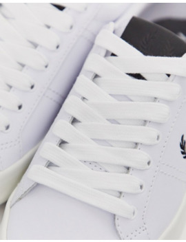 fred-perry---b721---baskets-en-cuir-vulcanisé by fred-perry