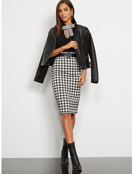 houndstooth-pencil-skirt---7th-avenue by new-york-&-company