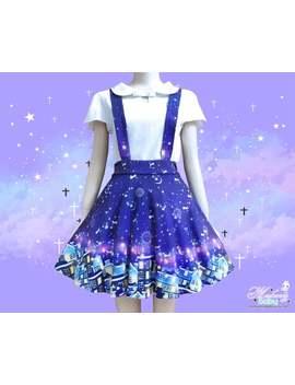 city-of-stars---suspender-skirt,-galaxy-skater-constellation,-fairy-kei-dress,-cute-kawaii-skater-skirt----sps2 by etsy