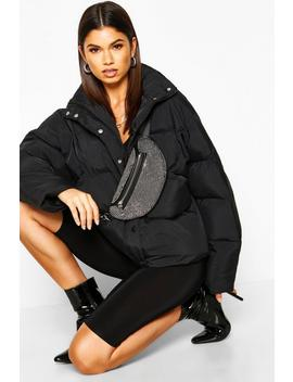 funnel-neck-puffer-jacket-with-pockets by boohoo