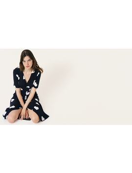 Black And White Heart Alexa Midi Dress        Boom!You're With Us Now. by Nobody's Child