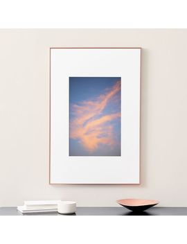 simply-framed-oversized-gallery-frame---rose-gold by west-elm