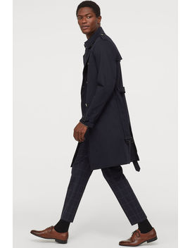 trenchcoat-i-bomuldstwill by h&m