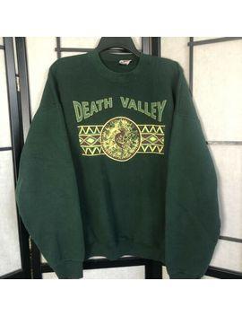 vintage-death-valley-hunter-green-crewneck-sweatshirt-kokopelli-usa-xxl-c4 by fruit-of-the-loom-best