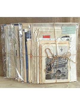 junk-journaling,-ephemera-pack,-journal-kits,-art,-diy,-70-pieces,-vintage-paper,-antique-pages by etsy