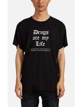 Gothic Cotton T Shirt by Amiri