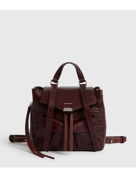Polly Leather Backpack by Allsaints