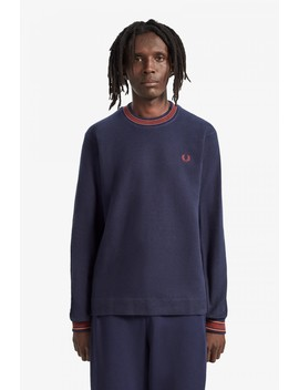 nicholas-daley-waffle-knit-sweatshirt by fred-perry