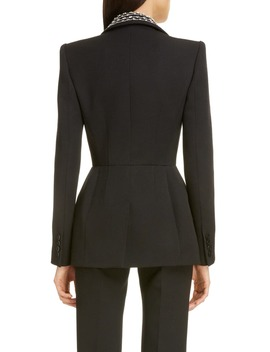 embellished-lapel-wool-&-silk-jacket by givenchy