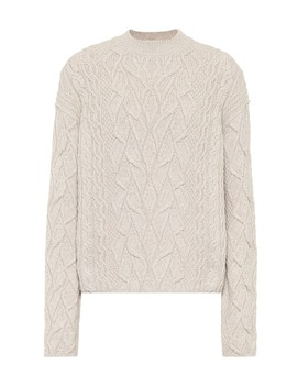 cashmere-cable-knit-sweater by loro-piana