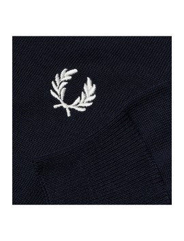 Reissues Single Tipped V Neck Jumper  by Fred Perry