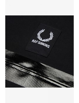Raf Simons Taped Hooded Sweatshirt by Fred Perry