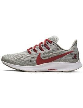 alabama-crimson-tide-nike-womens-air-zoom-pegasus-36-running-shoes---gray_crimson by nike