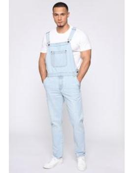 lennie-overalls---light-blue-wash by fashion-nova
