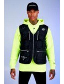 deno-driz-utility-vest-with-multi-pocket-detaildeno-driz-utility-vest-with-multi-pocket-detail by boohoo